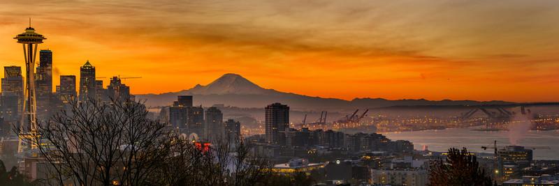 Orange sorbet sunrise