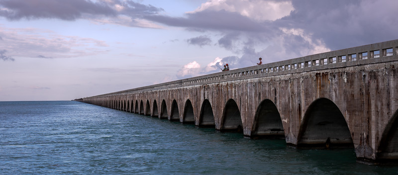 Veterans Memorial Park Bridge, Floriday Keys, USA