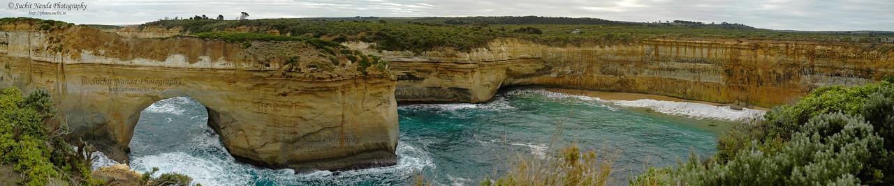 Limestone rocks along The Great Ocean Road Melbourne, Victoria (VIC), Australia.