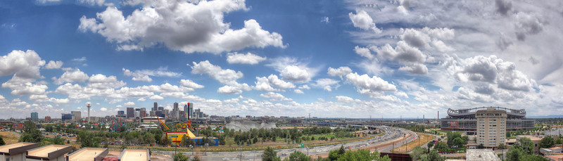 Interstate 25 Panorama