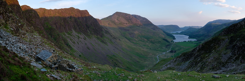Warnscale Bothy and Lake Buttermere