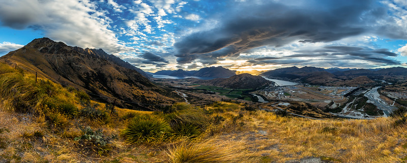 The Remarkables & Kawarau Falls
