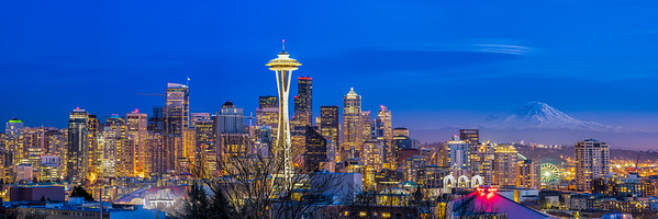 Kerry Park Blue Hour