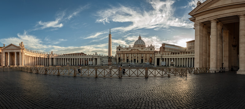 St. Peter's Square, Rome, Italy