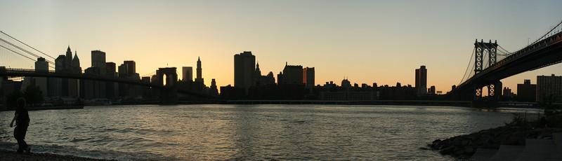 Brooklyn Bridge & Manhattan Bridge Pano