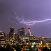Denver<br /> <br /> Lightning Panorama Skyline