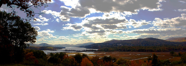 Cold Springs Panorama, View from Boscobel