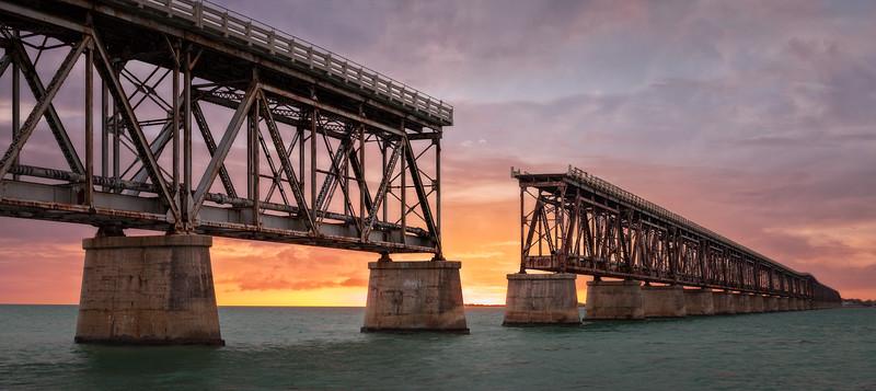 Bahia Honda Rail Bridge, Florida, USA