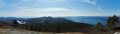 Buck Mountain - 100' below the Summit, SW Face