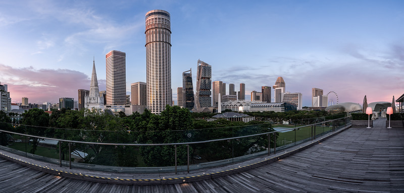 Raffles City & Suntec City, Singapore