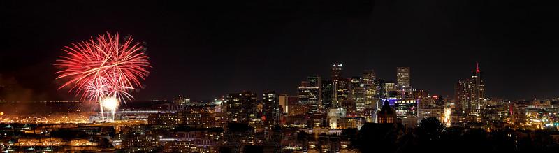 Fireworks Skyline 2013