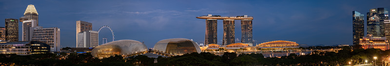 Suntec City, Marina Bay Sands & Raffles Place, Singapore