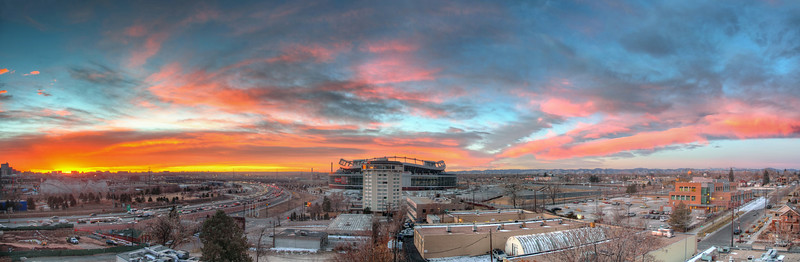 Invesco Sunrise w/ I-25
