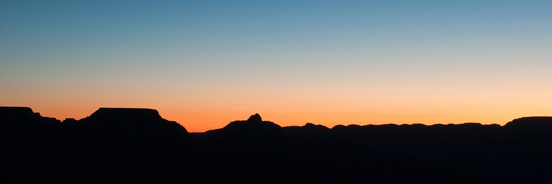 Dawn from Yavapai Point, Grand Canyon