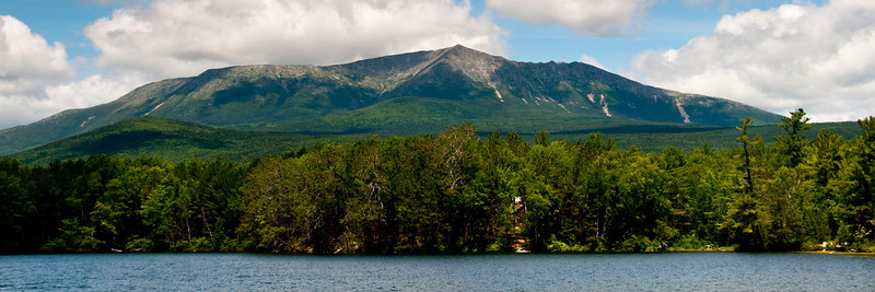 Mt Katahdin from Upper Togue pond