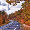 HDR of Arkansas Scenic Byway 7 in autumn.