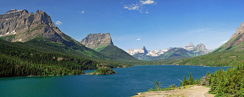 """Glacier National Park - Inspiration Point <BR><BR>Want to buy a print of this image?  Click <a href=""""http://www.langfordphotography.com/For-Sale/New-Site-Panormaics/9004552_h7zw9H"""">Here</a>!"""