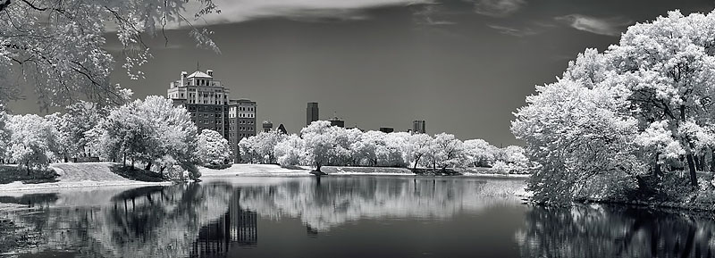 "Dallas Texas - Founder's Park Infrared <BR><BR>Want to buy a print of this image?  Click <a href=""http://www.langfordphotography.com/For-Sale/New-Site-Panormaics/9004552_h7zw9H"">Here</a>!"
