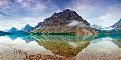 Bow Lake Banff National Park Canada
