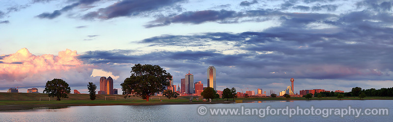 "Dallas Texas - Colorful Painted Sunset <BR><BR>Want to buy a print of this image?  Click <a href=""http://www.langfordphotography.com/For-Sale/New-Site-Panormaics/9004552_h7zw9H"">Here</a>!"