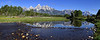 """Grand Teton National Park - Schwabacher Landing <BR><BR>Want to buy a print of this image?  Click <a href=""""http://www.langfordphotography.com/For-Sale/New-Site-Panormaics/9004552_h7zw9H"""">Here</a>!"""