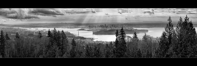 Downtown Vancouver Cypress Mountain North Vancouver