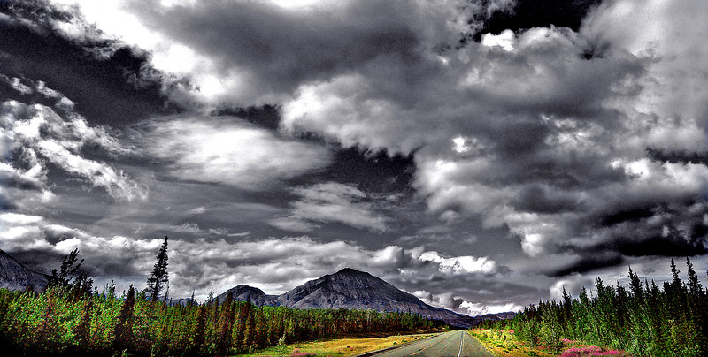 On the Road Again             interior, Alaska