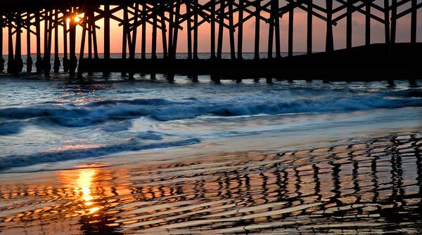 Leaving it all Behind     Seal Beach, California