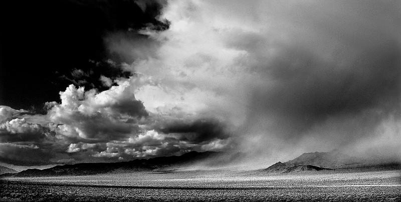 Breaking the Silence          Nevada desert