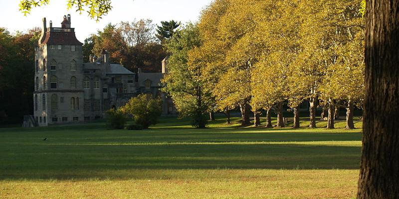 FontHill Castle in September, Doylestown PA (former home of Henry Chapman Mercer)