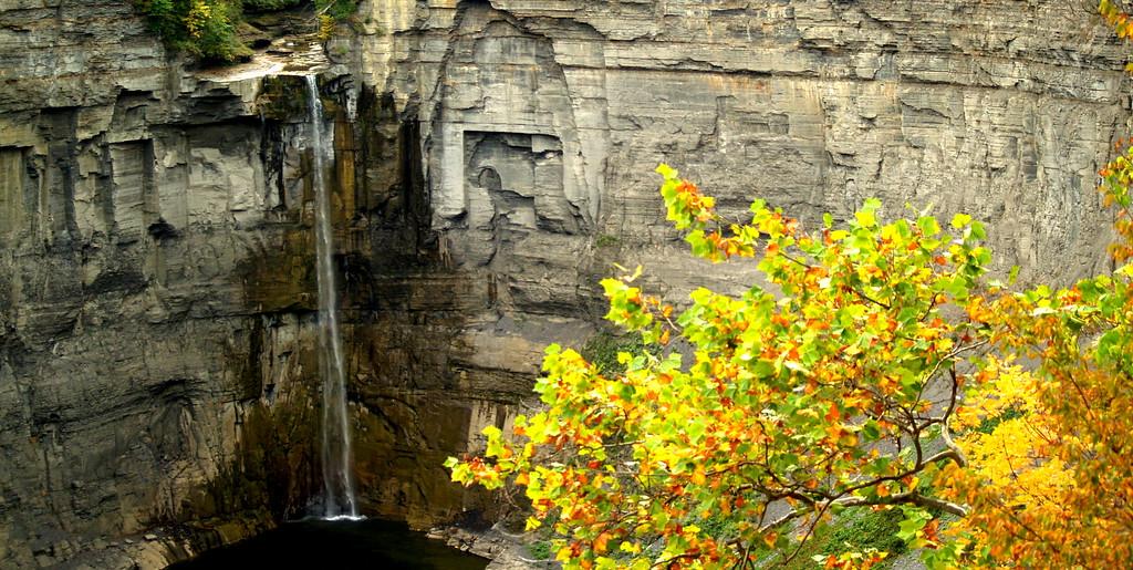 Taughannock Falls in Ulysses, NY