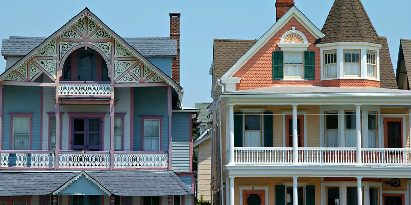 Gingerbread houses, Ocean Grove NJ