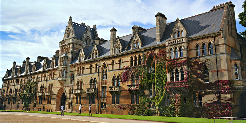 Building at Oxford University - England