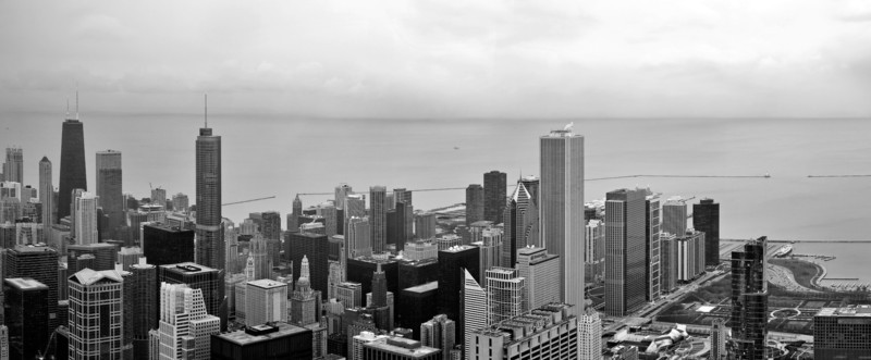 <b><font>Chicago | USA</font></b> Busy skyline...