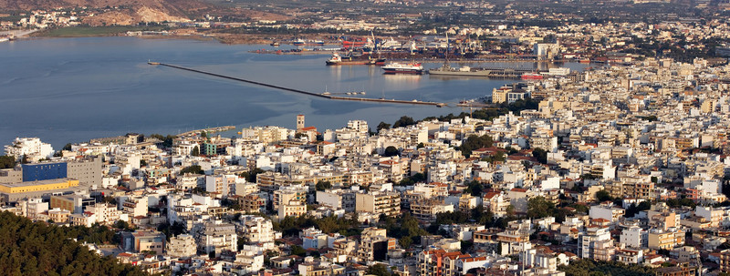 <b><font>Volos | Greece</font></b> A beautiful and vibrant town as seen from a neighbouring hill