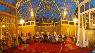 The Orangery at Tortworth Court Four Pillars Hotel. 12th January 2013