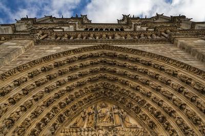 Notre Dame Front Notre Dame Front