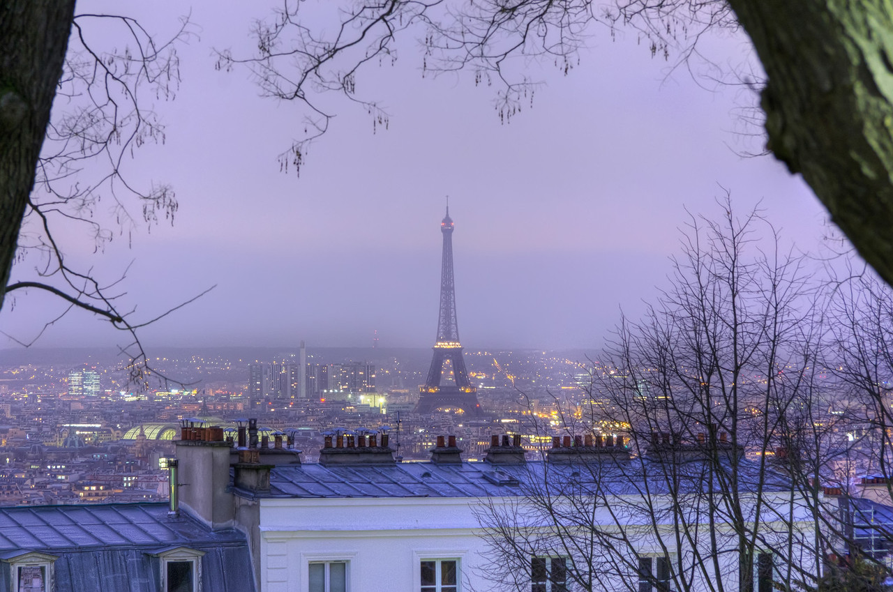 Eiffel Tower From Montmartre Eiffel Tower From Montmartre