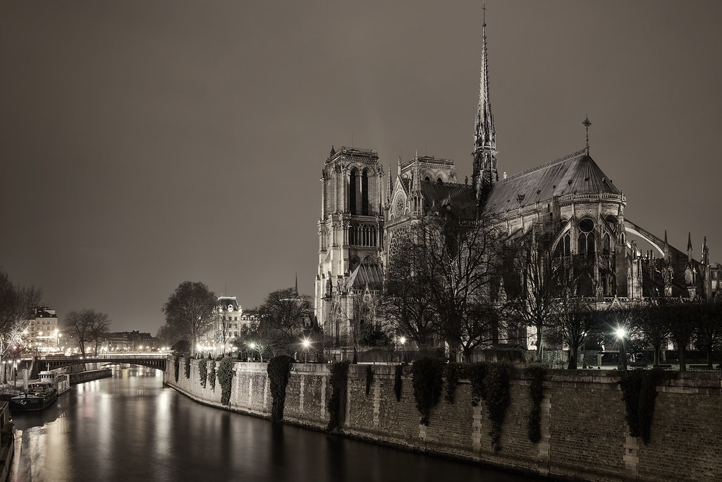 Notre Dame on the Seine (Paris, France)