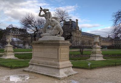 Statue Near Louvre Statue Near Louvre
