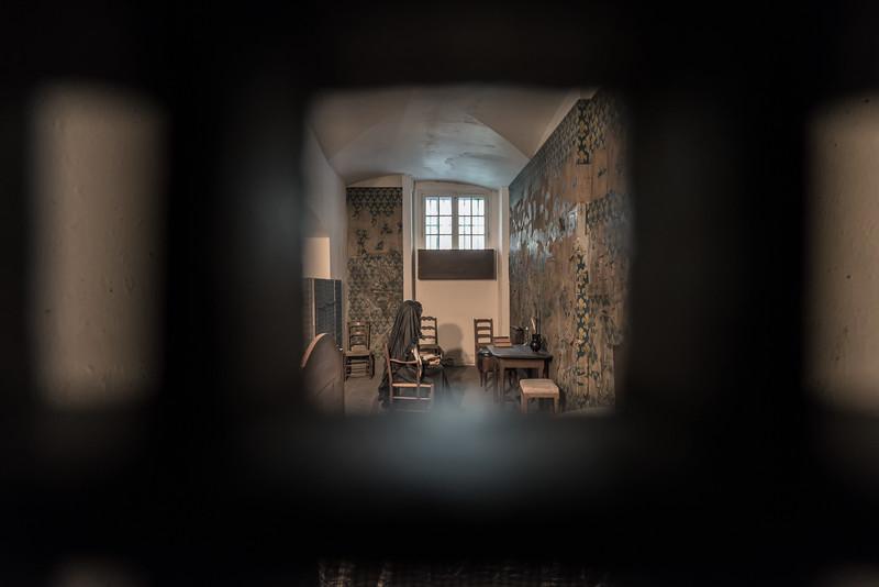 The Cell of Marie Antoinette (Conciergerie - Paris, France)