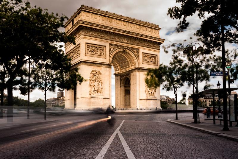 Arc De Triomphe, Paris 2016