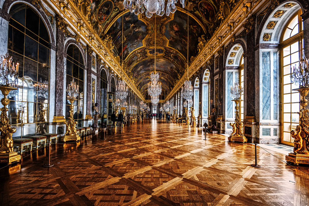 Hall of Mirrors (Versailles, France)