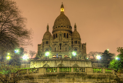 Sacre Coeur by Roman Betik at http://www.StillGlimmers.com Sacre Coeur  by Roman Betík at http://www.StillGlimmers.com