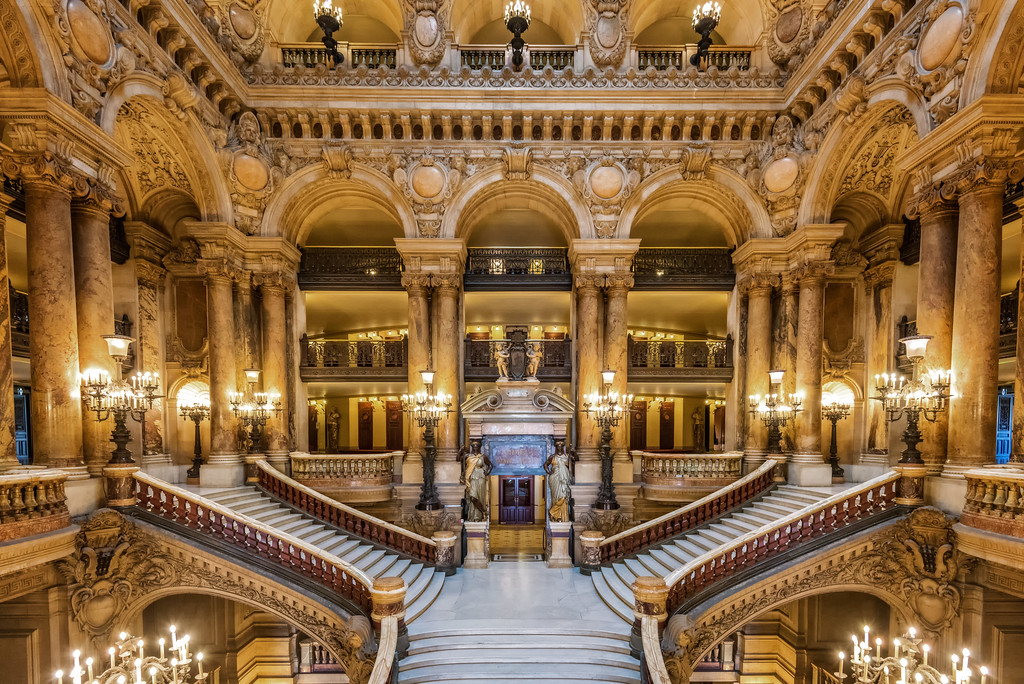 Palais Garnier Grand Staircase (Paris, France)