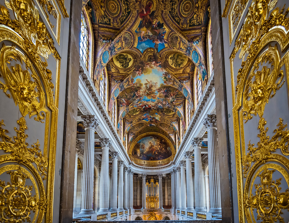 Royal Chapel in Versailles (Paris, France)