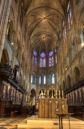 Inside the Notre Dame Inside the Notre Dame
