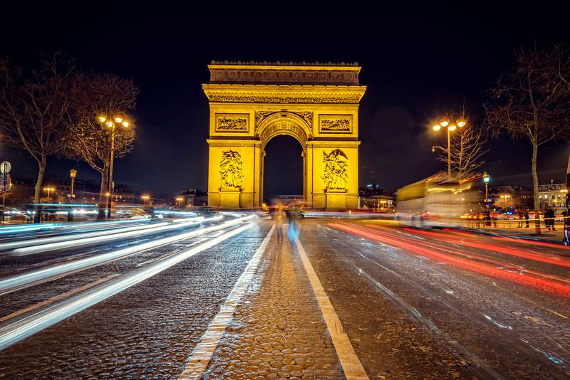 Arc de Triomphe (Paris, France)
