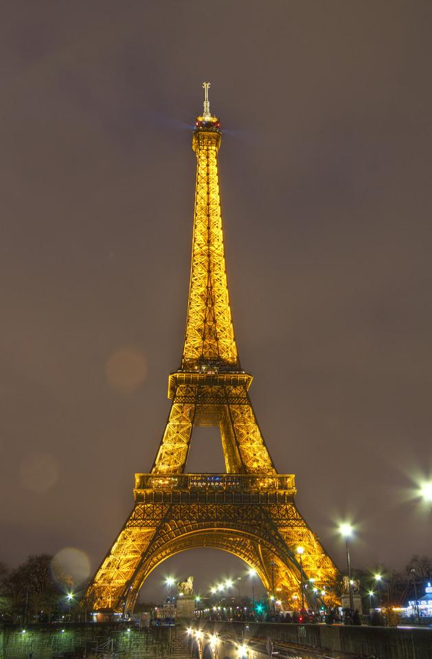 Eiffel Tower At Night Eiffel Tower At Night