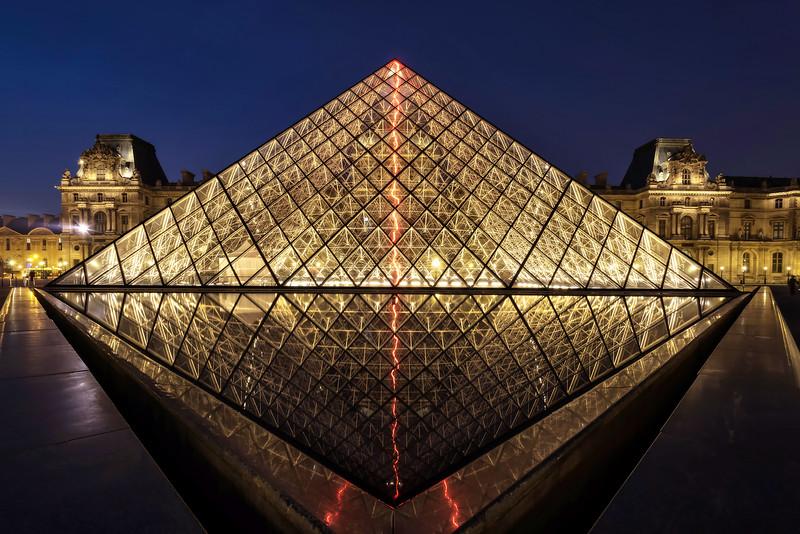 The Louvre Pyramid (Paris, France)